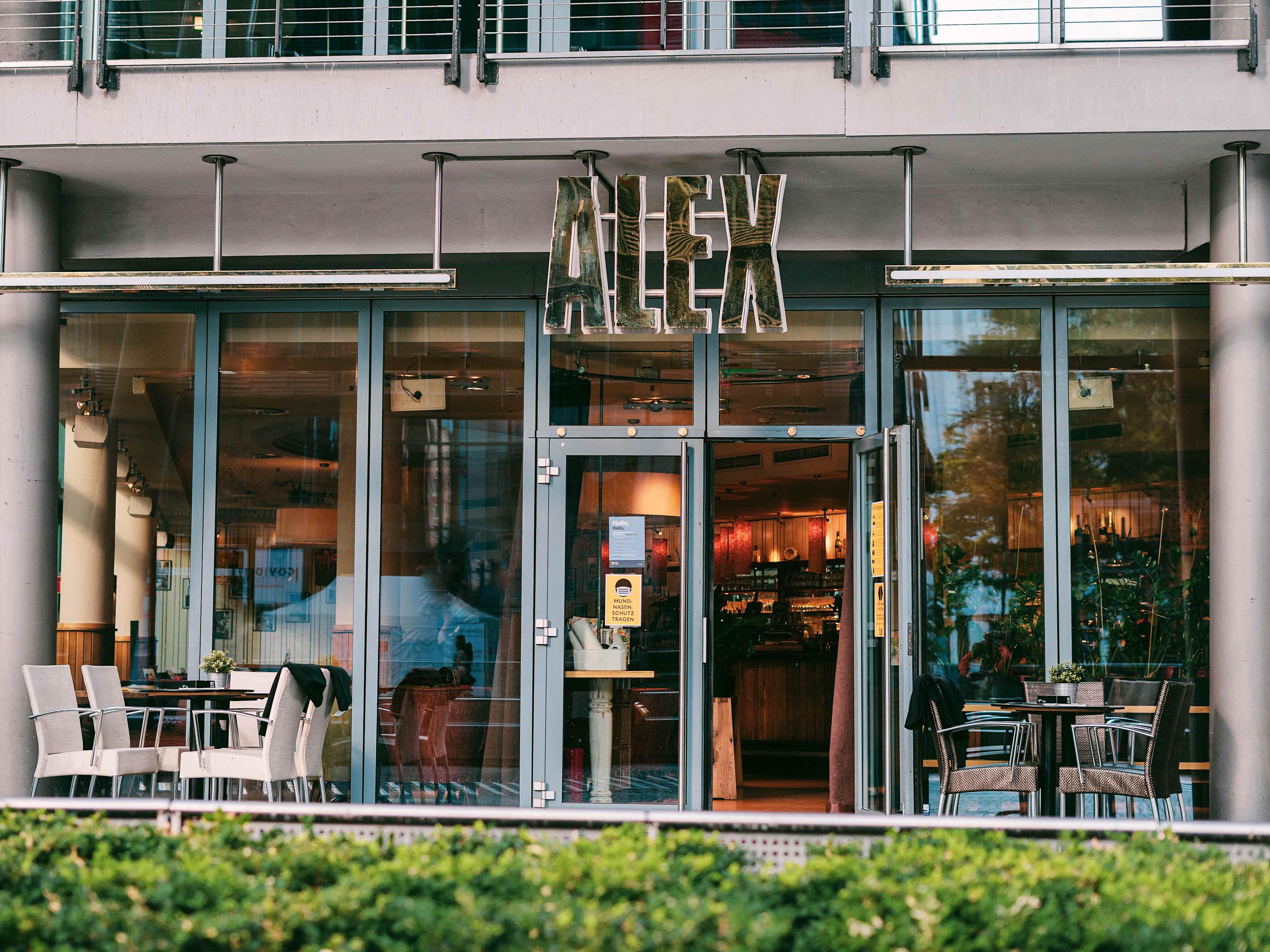Café Alex  im Sony Center am Potsdamer Platz