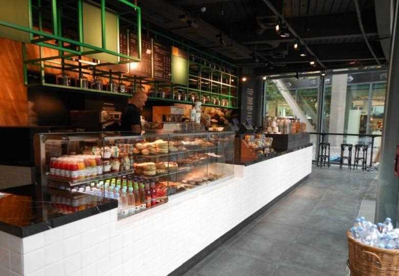 Starbucks Kaffee im Sony Center am Potsdamer Platz
