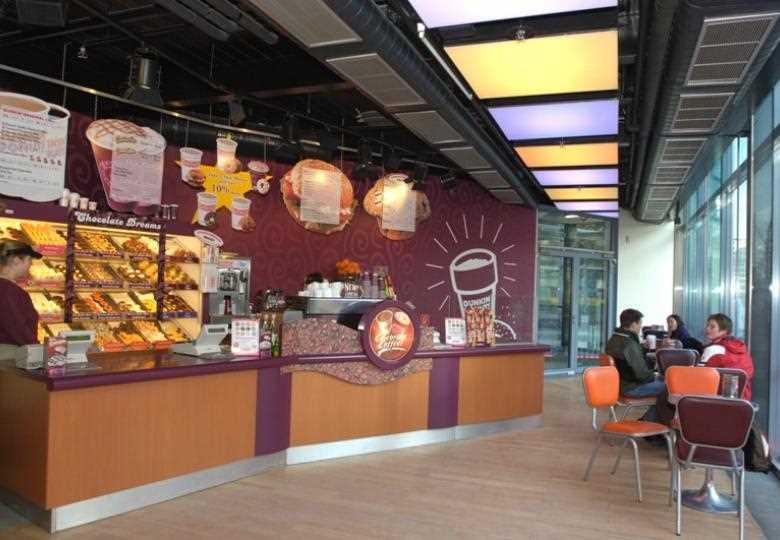 Dunkin Donuts  im Sony Center am Potsdamer Platz Potsdamer Straße