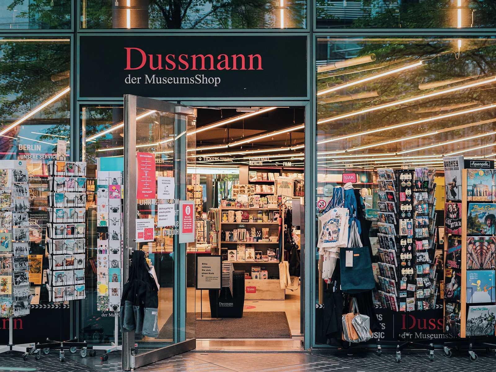 Dussmann Museumsshop im Sony Center 2