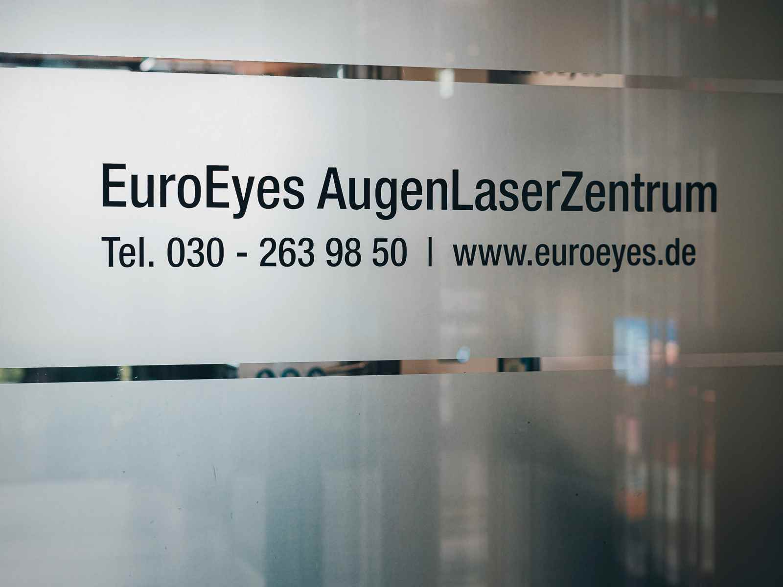 Euroeyes im Sony Center am Potsdamer Platz