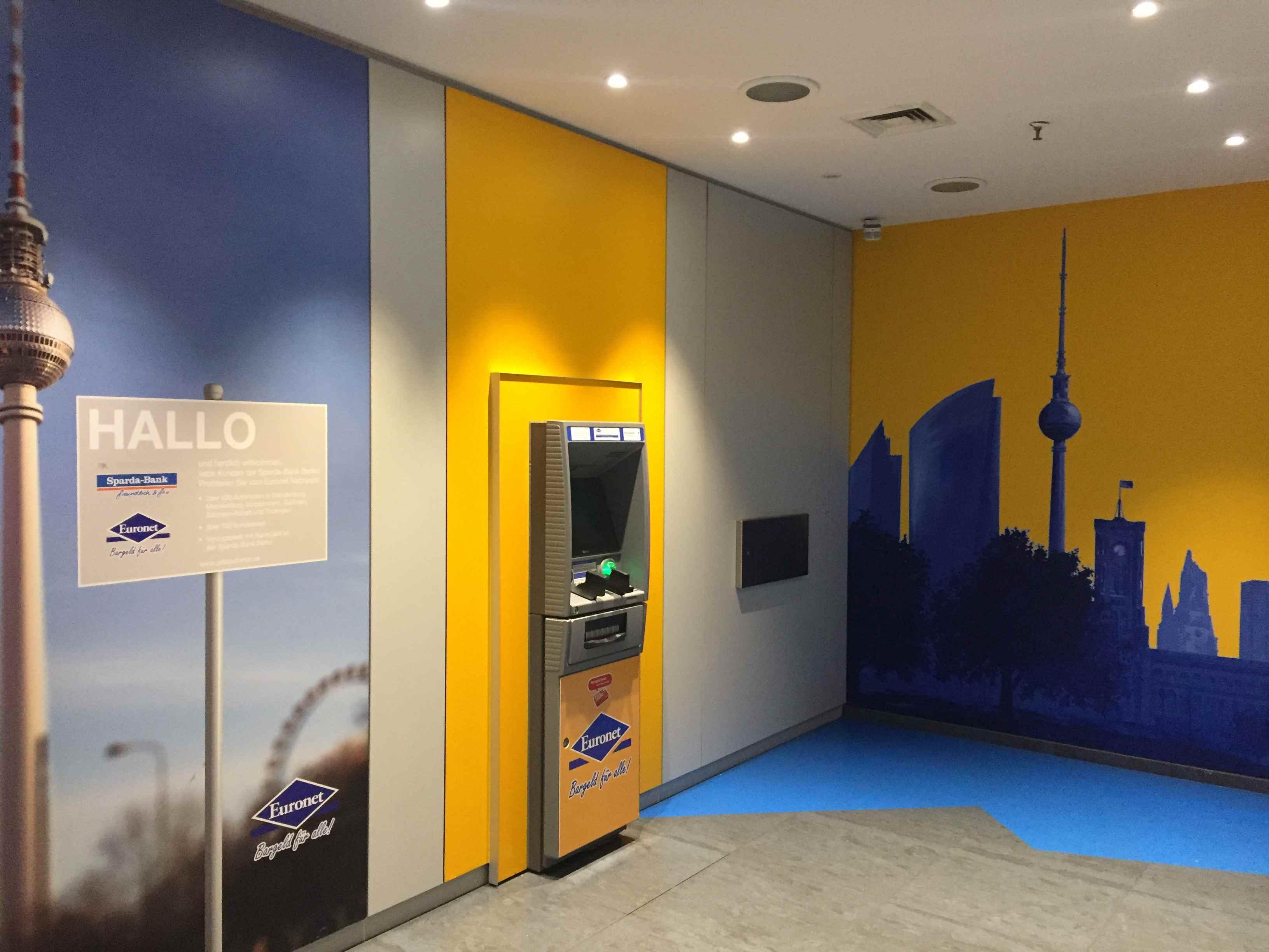 Euronet im Sony Center am Potsdamer Platz