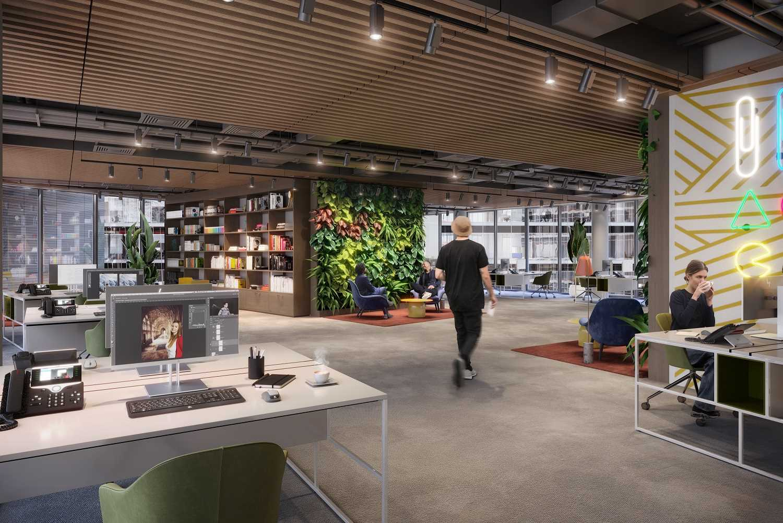 Kreativbüro im Sony Center