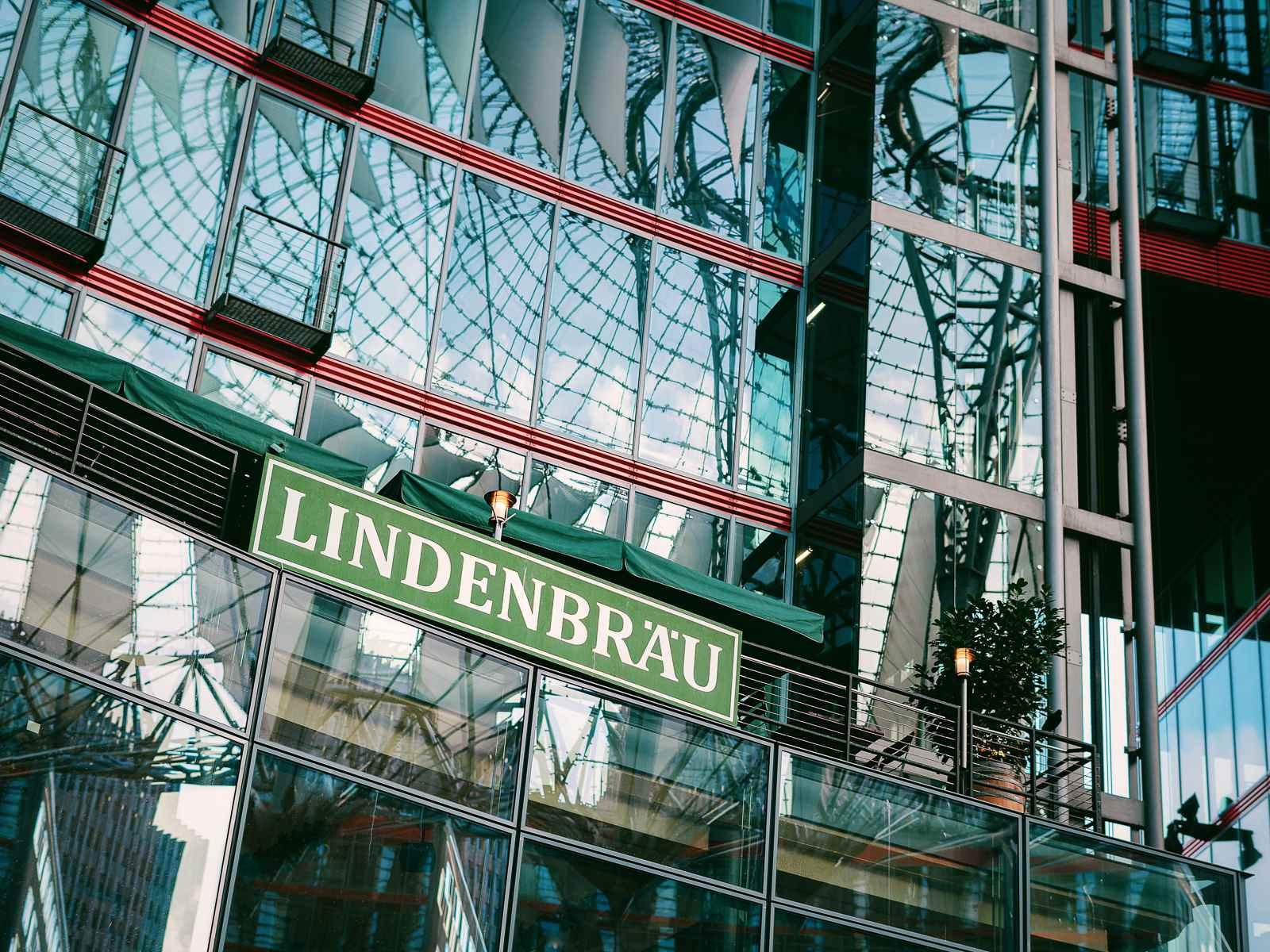 Lindenbräu Restaurant im Sony Center am Potsdamer Platz
