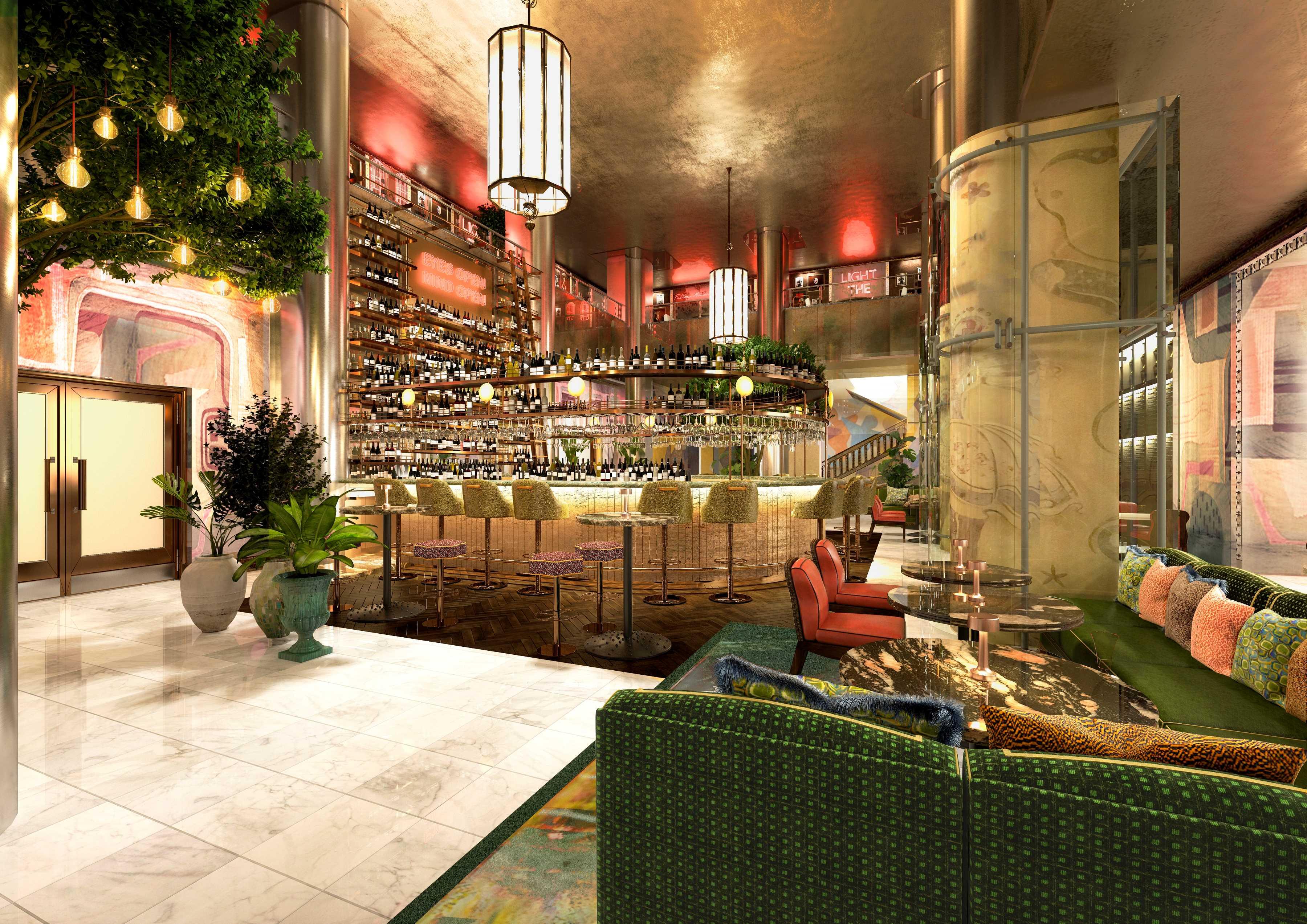 Neue Bar im Silbersaal im Sony Center