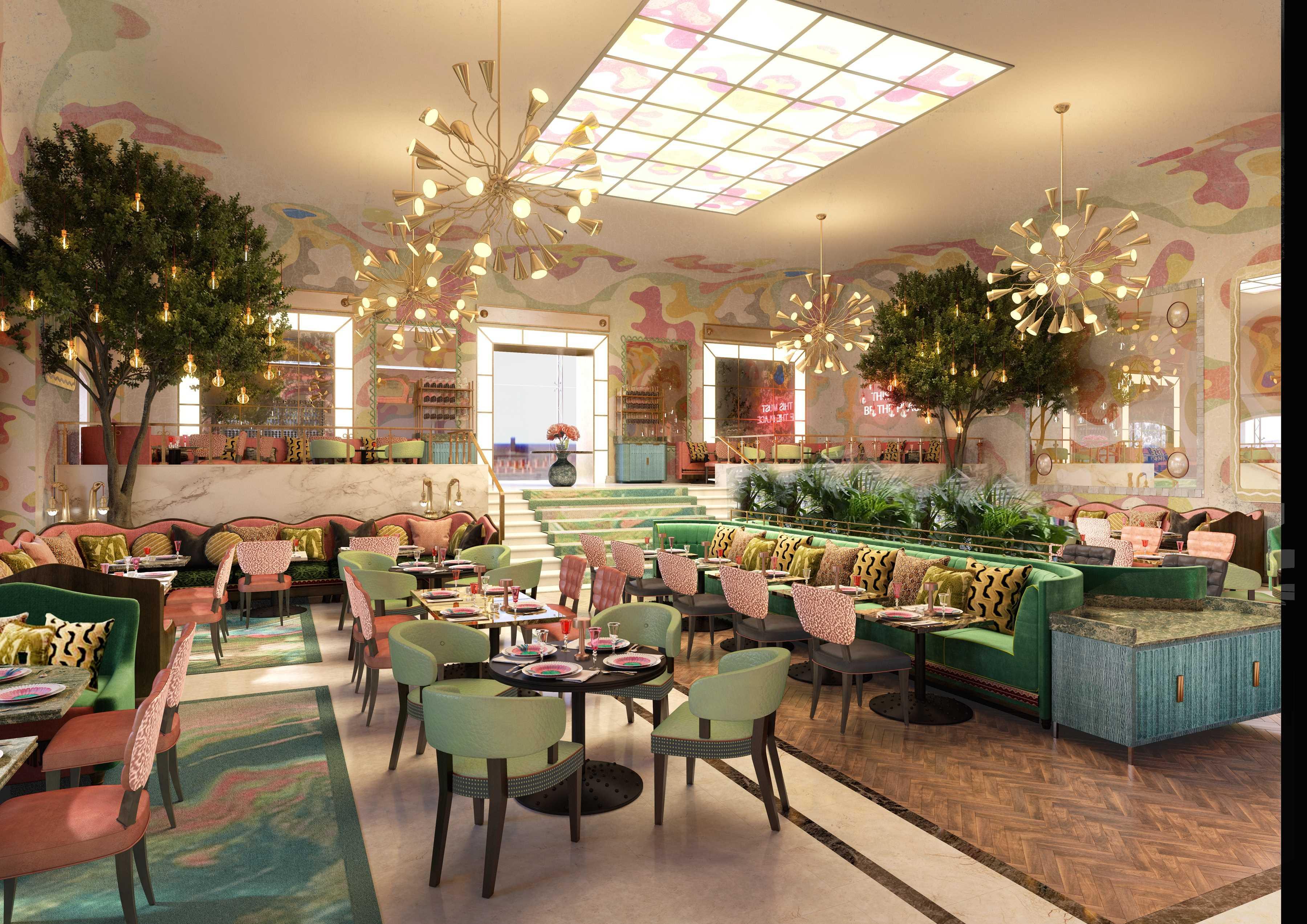 Neues Restaurant im Palmenhof und Silbersaal im Sony Center