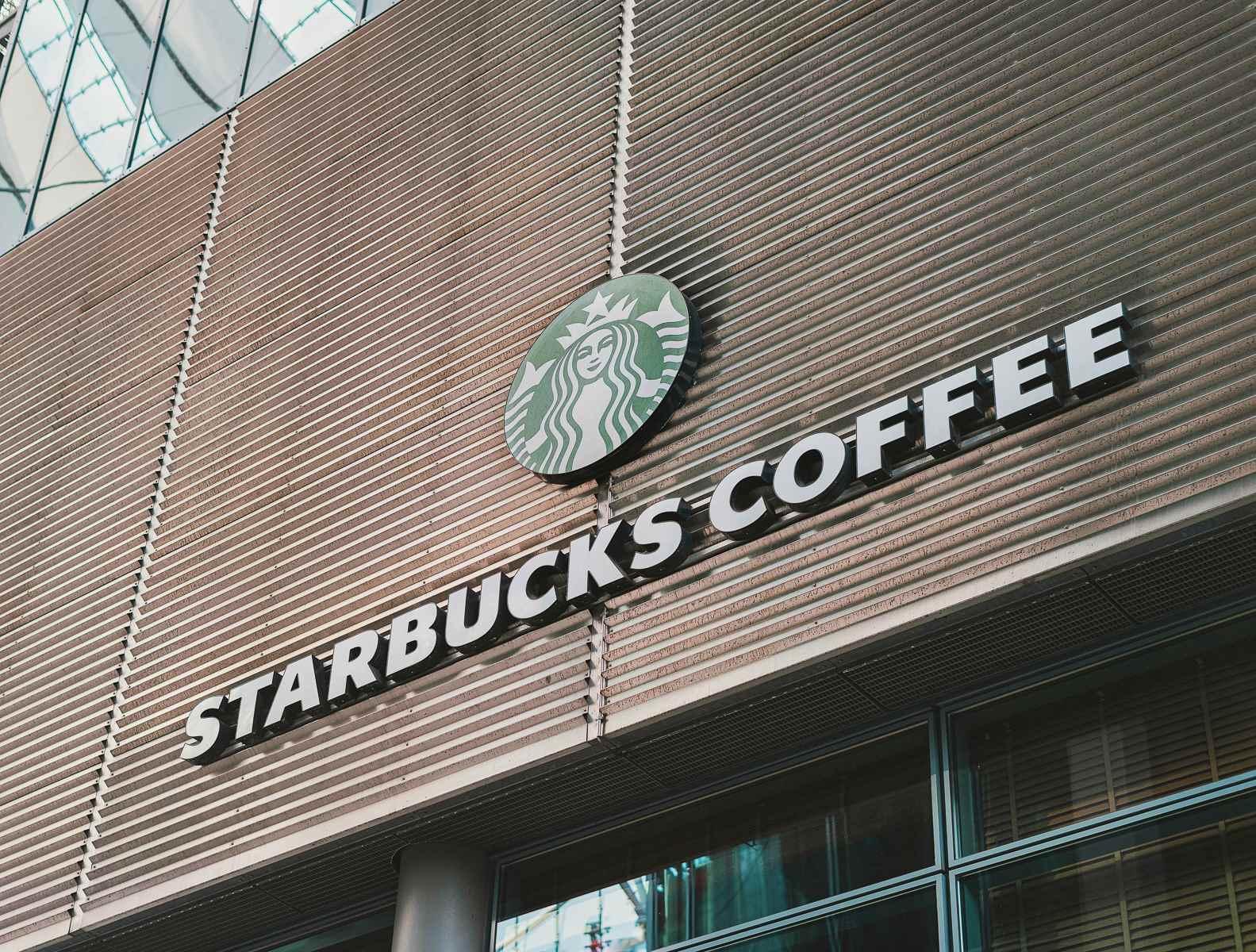 Starbucks Café im Sony Center am Potsdamer Platz