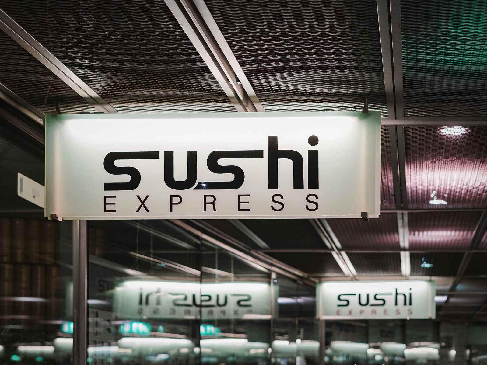 Sushi Express Restaurant  im Sony Center am Potsdamer Platz